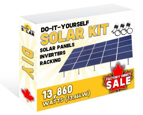 Solar Panels Ground Mount Kit 13860W