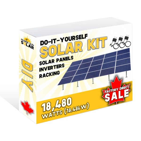 Solar Panel Farm Ground Mount 18480W