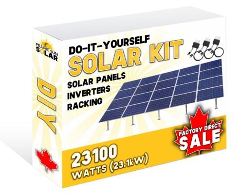 Solar Panels Ground Mount 23100W