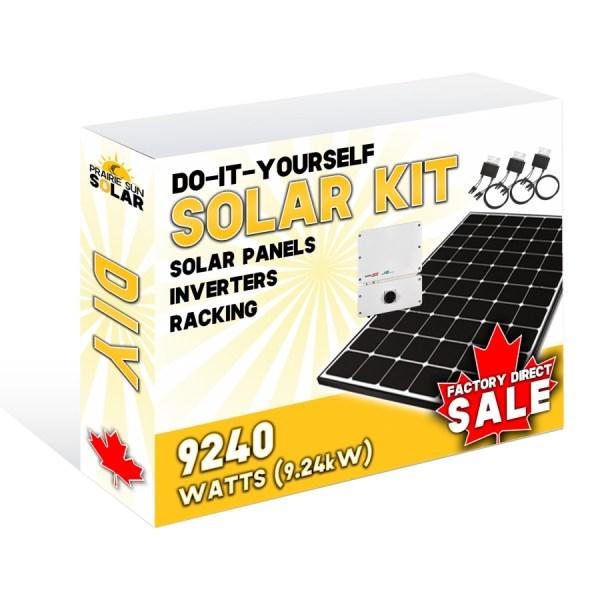 Solar Panel Kit 8.47kW- Prairie Sun Solar