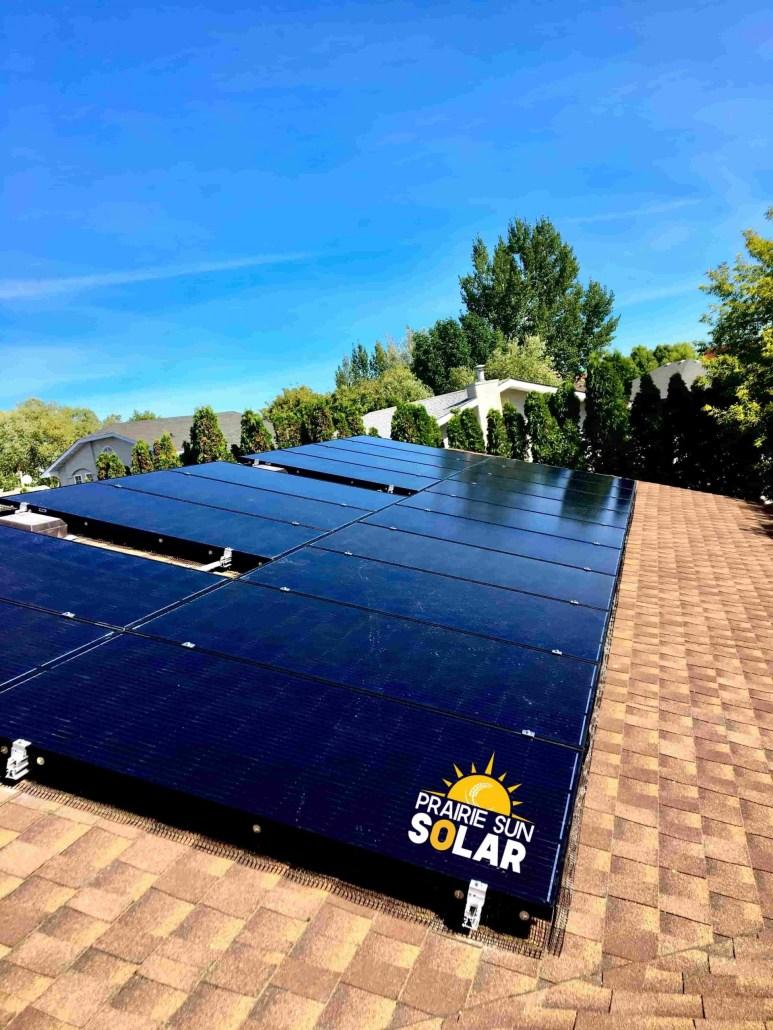Black Solar Panels - Saskatchwan Solar