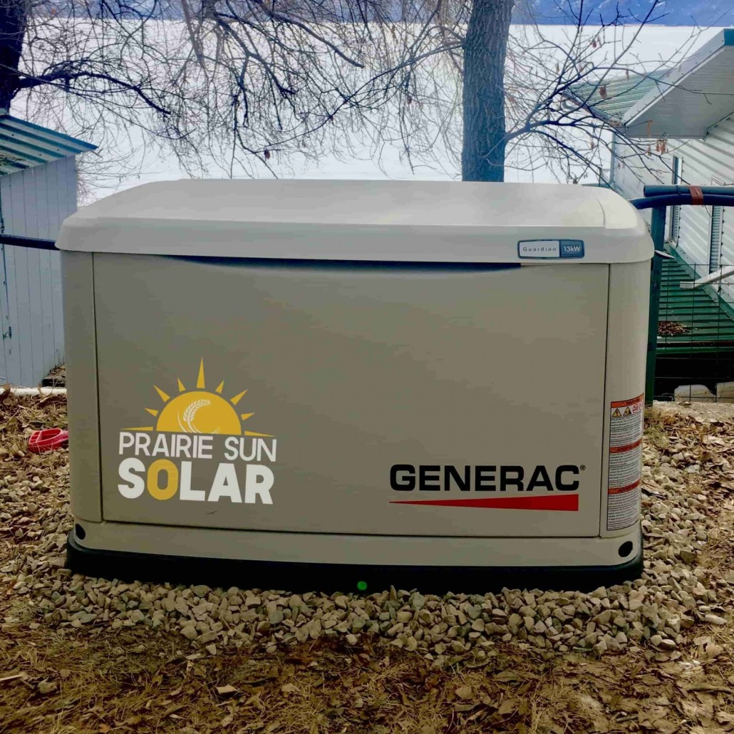 Generac Generator - 13kW by Prairie Sun Solar in Saskatchewan