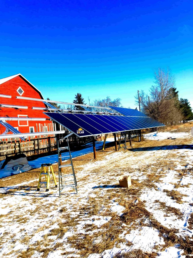 Solar Power - Ground Mount Solar - Saskatchewan
