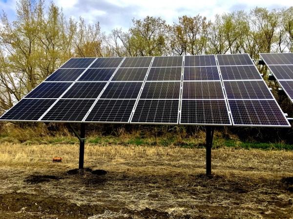 Solar Panel Kit - 12 Solar Panel Ground Mount