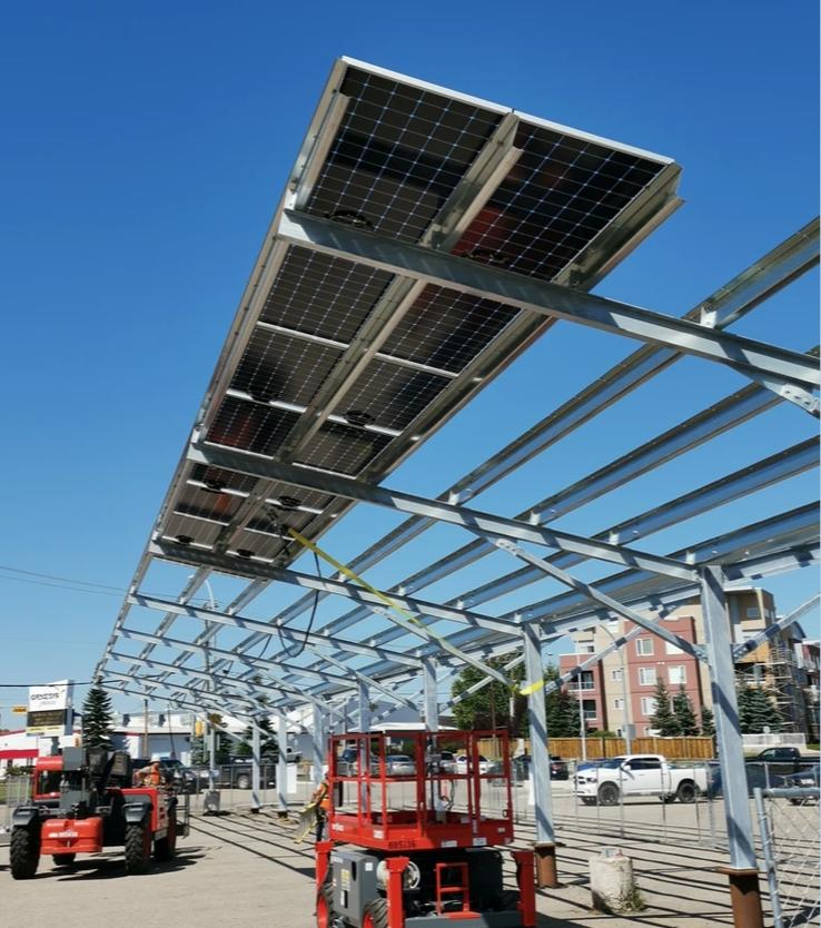 Carport - Prairie Sun Solar