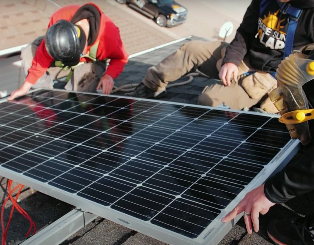 Part 4- installing solar panels