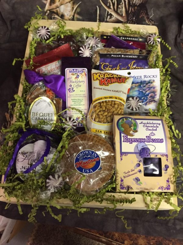 Montana Posse Gift Basket