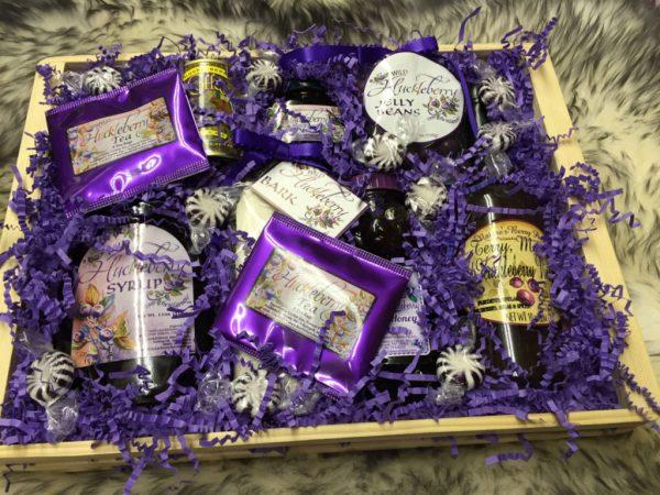 Wild Huckleberry Gift Basket
