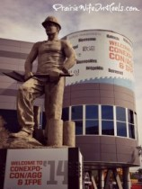 Con Expo statue