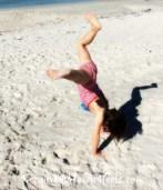 Cowgirl G on beach