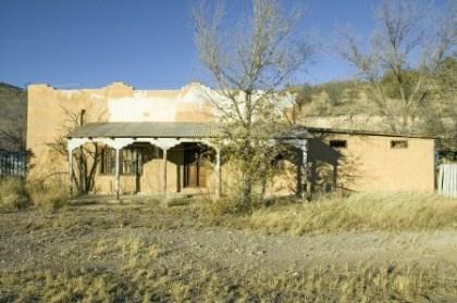 abandon mexican house