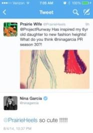 Nina Tweet