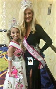 Deb and hannah at Pageant