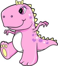 T rex mommy