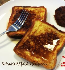 The Cowboys Famous French Toast