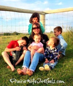 mum and the cowkids