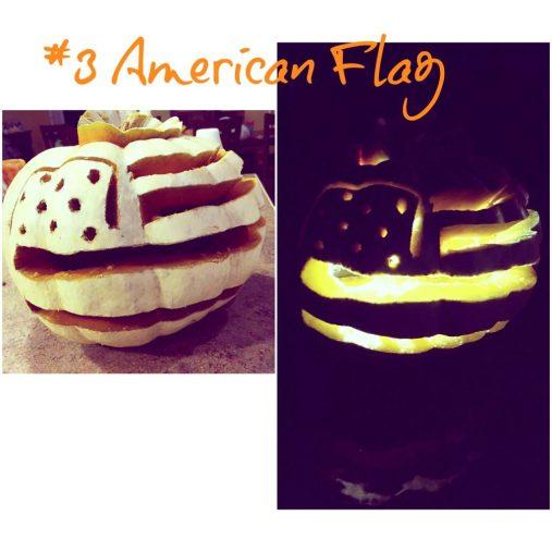 flag pumpkin