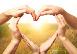 heart hands pray