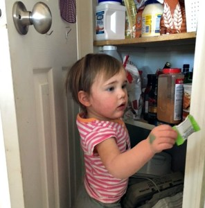 Little Miss H pantry
