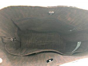 inside BB bag