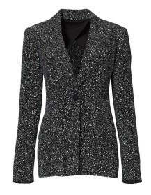splatter dot blazer