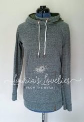 crossover hoodie