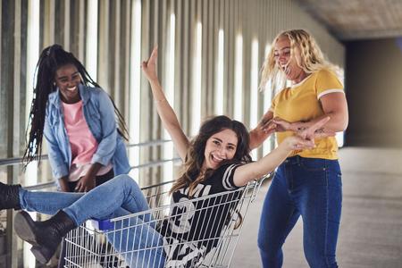 girls night out shopping
