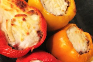 simple stuffed peppers