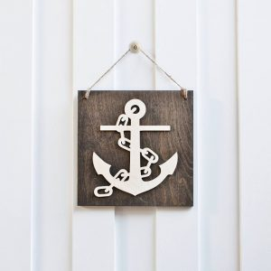 hanging anchor sign