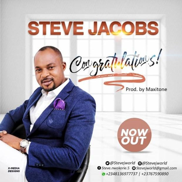Steve Jacobs - Congratulations