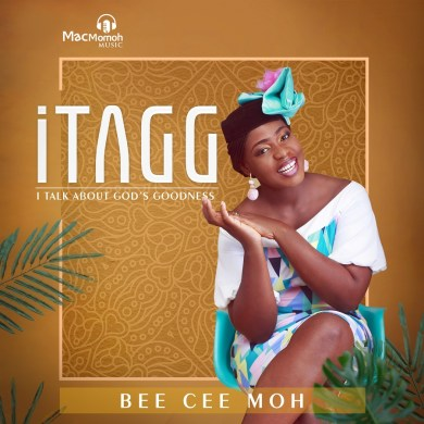 "Macmomoh Music recording artist, songwriter and music minister Bee Cee Moh has unveiled the title, official cover and released date for her upcoming debut album, iTAGG (I Talk About God's Goodness), giving fans an early peek of the project.  Featuring the heartfelt thanksgiving anthem ""Daalu"" as the lead single, and her most recent track ""AYO"" – which has impacted local radio stations to great acclaim, iTAGG is a 10-track LP filled with beautiful songs of praise/worship and thanksgiving to God Almighty. The highly anticipated project showcases Bee Cee Moh's versatility as a singer, incorporating different genres of music including Afro-pop, soul, reggae, contemporary rock, Highlife, More..  iTAGG (I Talk About God's Goodness) is scheduled for release everywhere including your favorite digital outlets on Friday, September 7th, 2018.  Previously released singles from the project; 'Daalu', 'Ayo' and 'Wo Mi' are available today for streaming/purchase on iTunes, Amazon, Spotify, Boomplay and other digital stores.  CONNECT with Bee Cee 'Moh  Twitter 