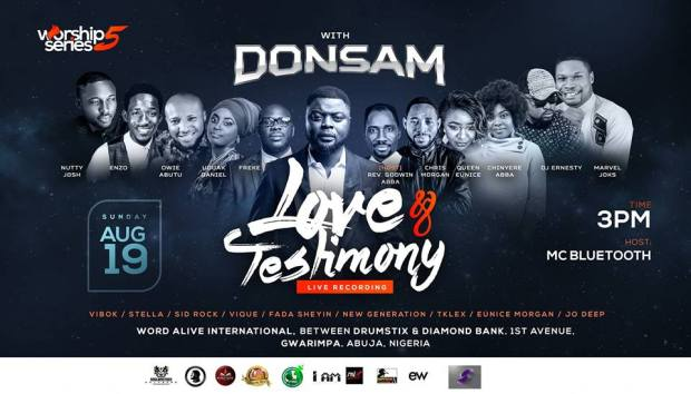 Worship Series 5 with Donsam