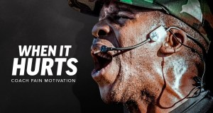 """When It Hurts"" – Inspiring Motivational Speech Video"