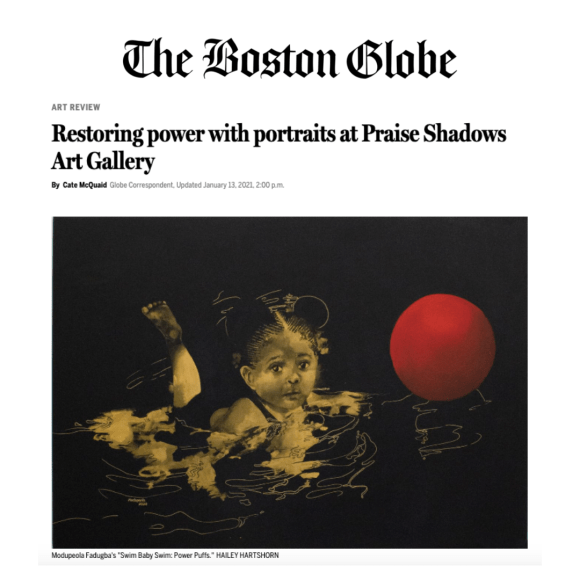 Boston Globe review See and Be Seen