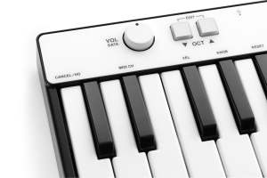 iRig Keys MINI parameter controls