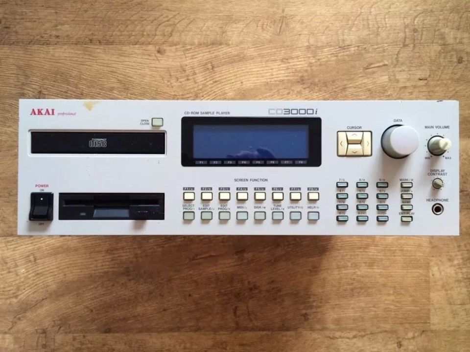 Akai CD3000i Sampler