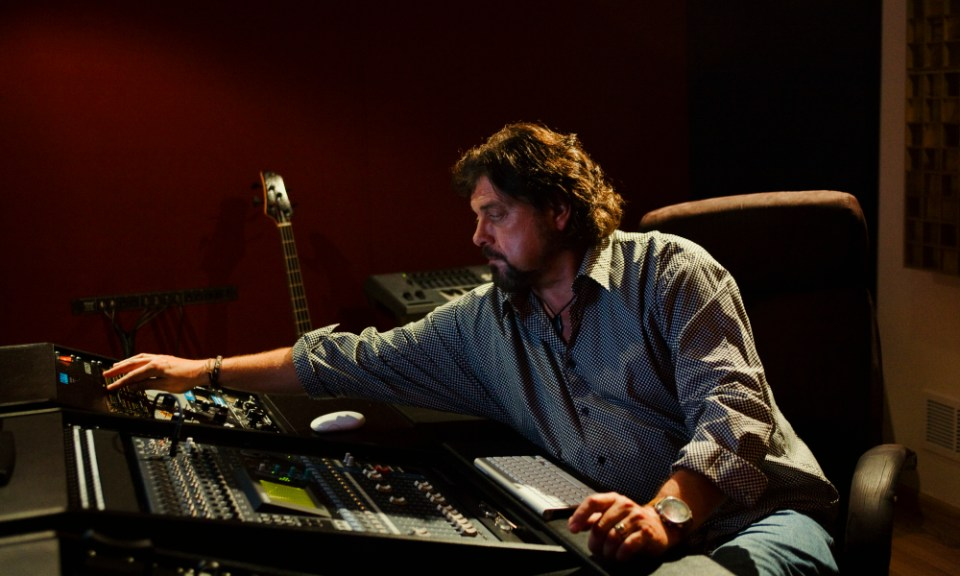 Alan Parsons In The Studio