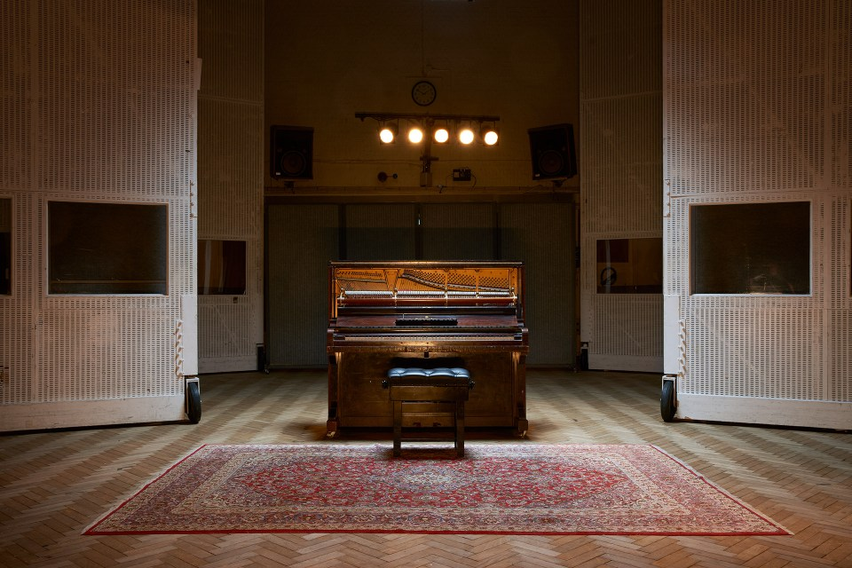 Mrs Mills Piano - Abbey Road Studio