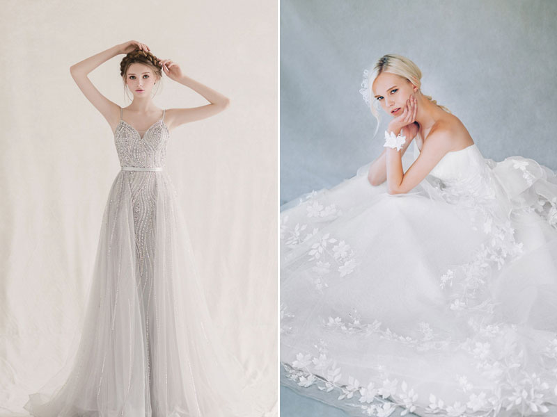 33 Whimsical And Ethereal Wedding Dresses For Fairy Tale