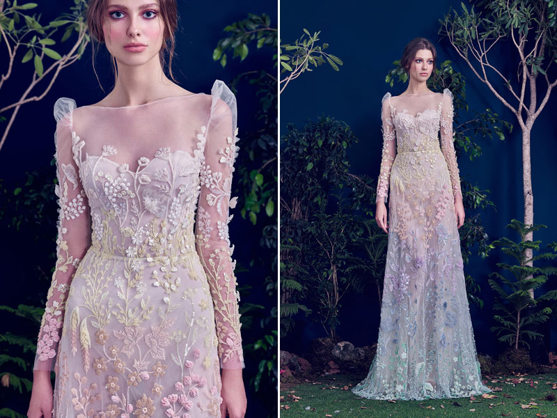32 Whimsical And Ethereal Wedding Dresses For Fairy Tale