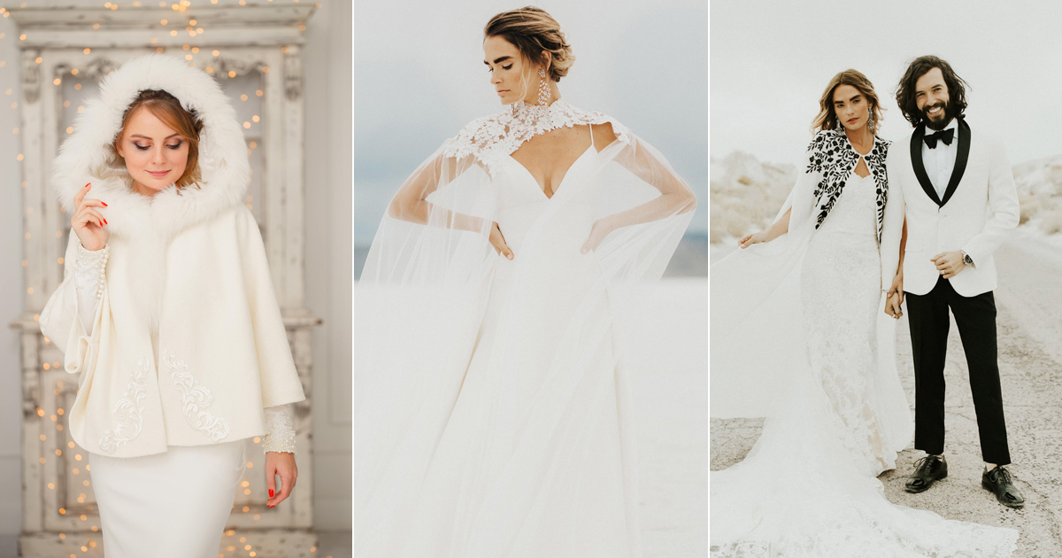 22 Fashion-Forward Cozy Cover Ups! Brides No Longer Have