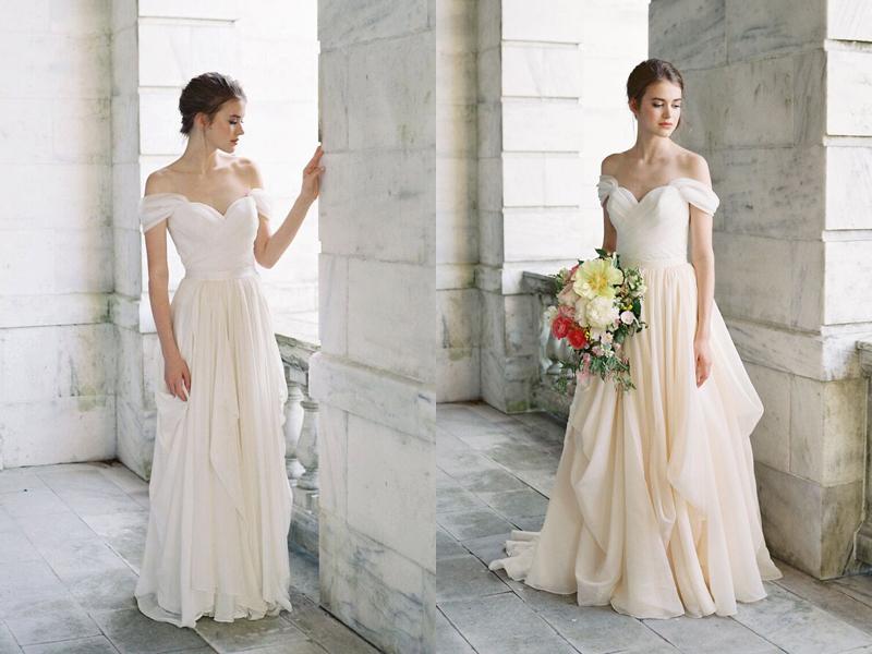 Build Your Very Own Wedding Dress! 17 Stylish Chic Bridal