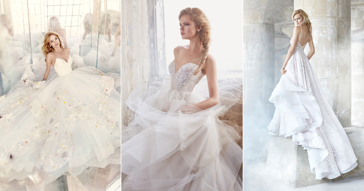 Sweet Femininity With A Touch Of Edginess! Hayley Paige