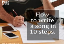How To Write A Song In 10 Steps (For beginners)