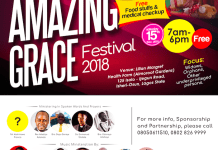Solomon Johnson presents Amazing Grace Festival 2018