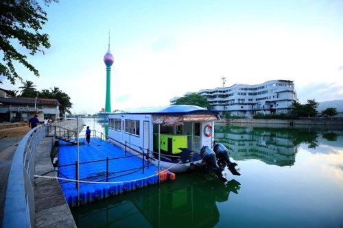 Colombo passenger boat service