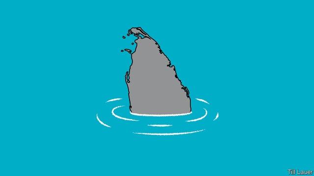 Sri Lanka sinking