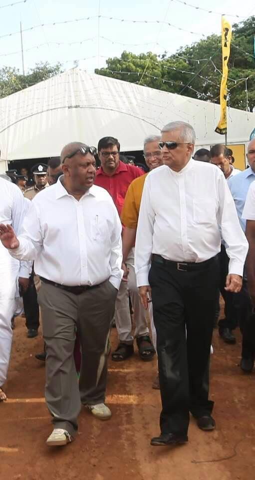 Ranil Wickramasinghe and Mangala Samaraweera