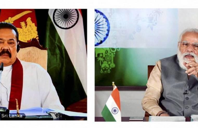 Talks between Modi and Mahinda - 2020