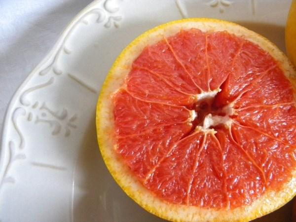 Grapefruit la cuptor